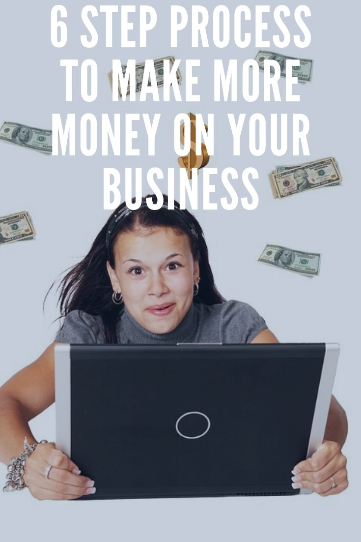 6 step process to make more money on your business
