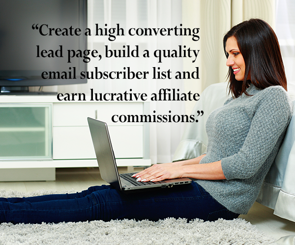create high converting landing page